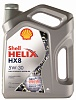 Полностью синтетическое моторное масло Shell 5W30HX8 4L (арт. 550040542)