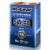 Синтетическое моторное масло Hi-Gear 5W40 SN/CF, 4л